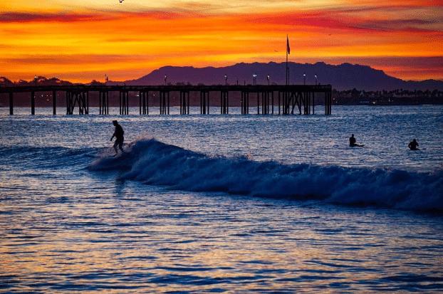 Catch some waves at C Street Surf Break