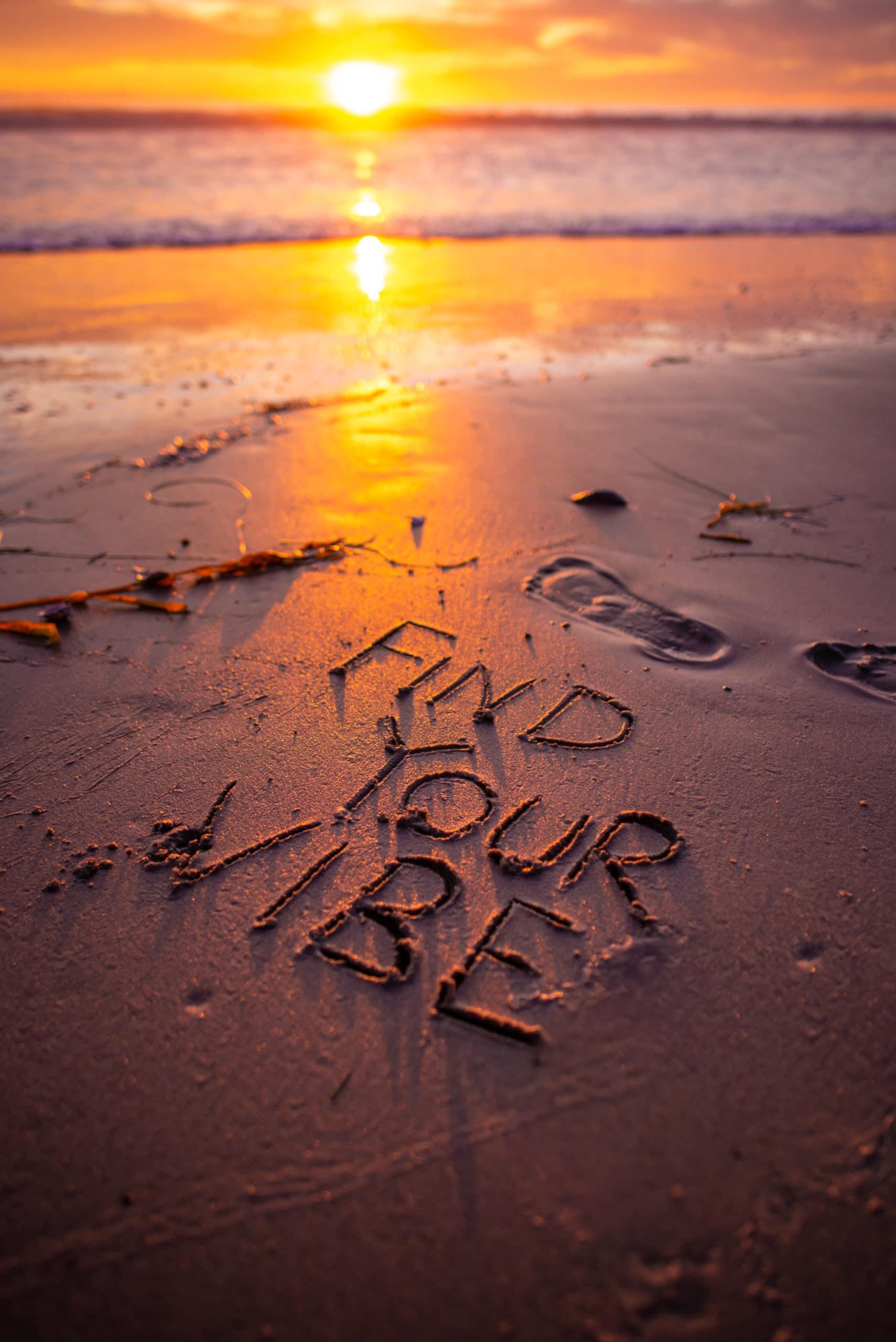 find your vibe ocean beach