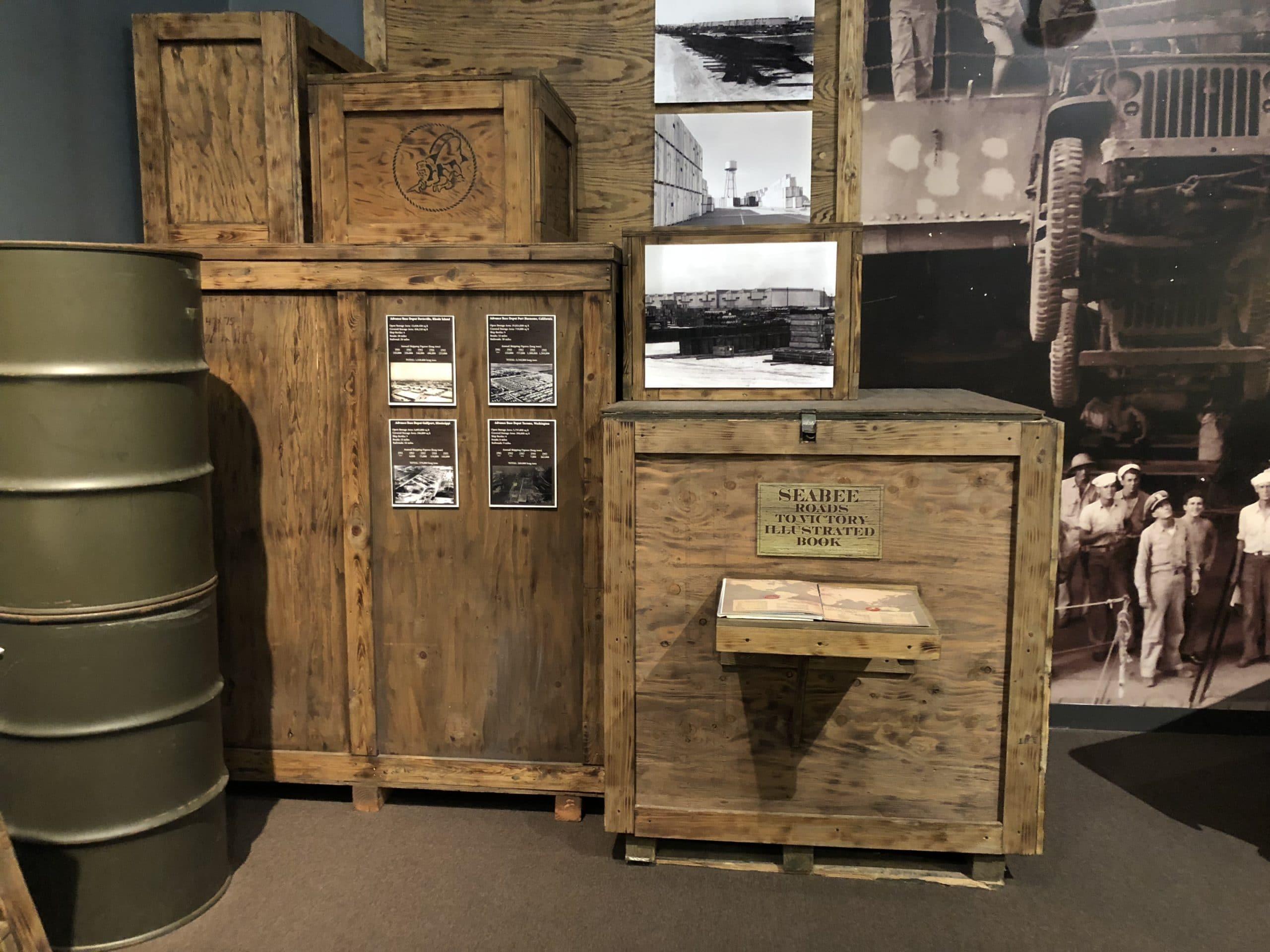 seabea seebee museum crates